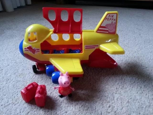 peppa pig muddy puddles jumbo jet