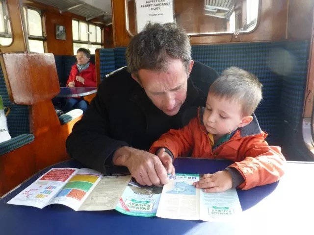 swanage railway reading the map c