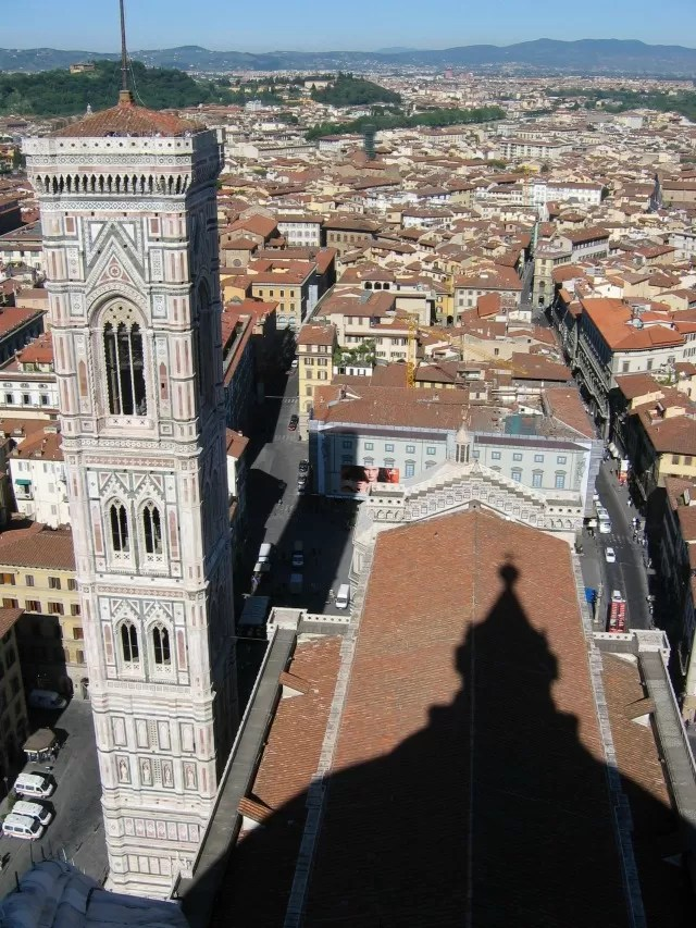 Florence Duomo shadow - Bubbablue and me