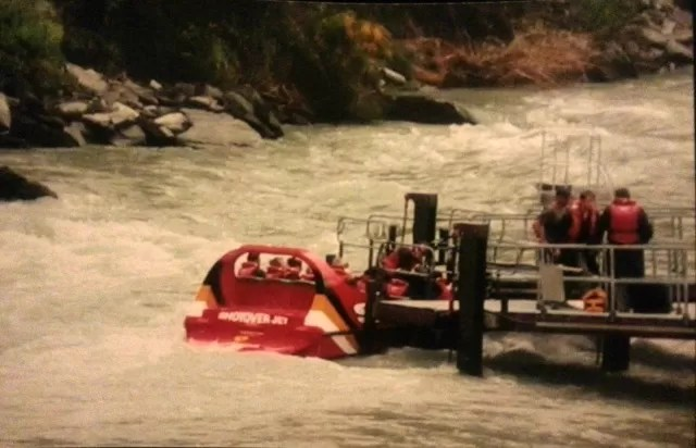 Shotover Jet in New Zealand south island