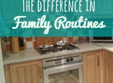 family routines