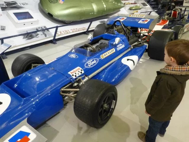 F3 car at Heritage Museium