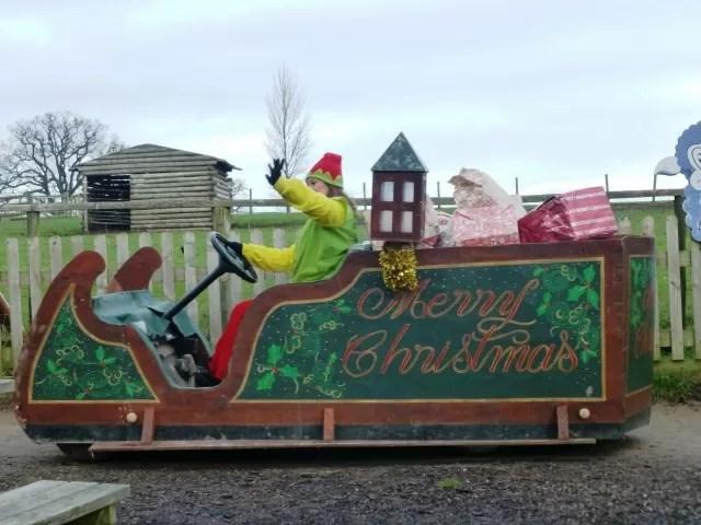 Hatton Christmas parade sleigh