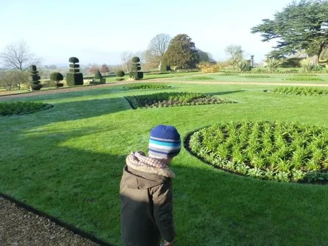 canons ashby garden view