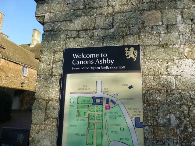 canons ashby sitemap