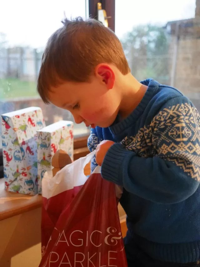 choosing a present to wrap