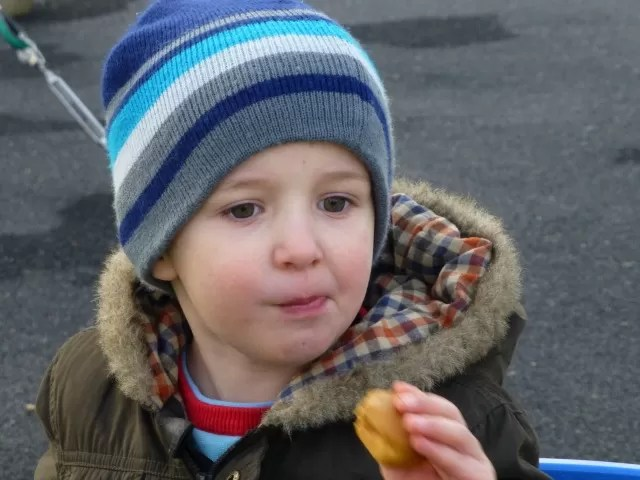 snack in a play park