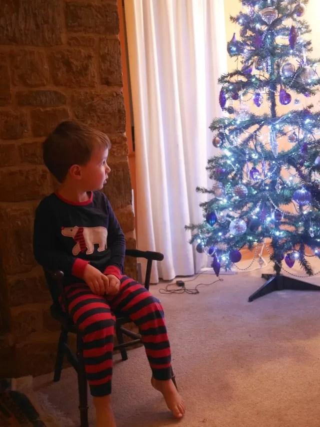 wow christmas tree moment