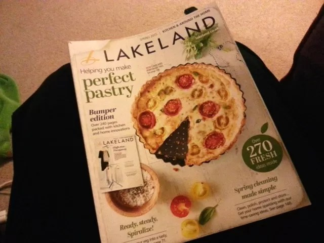 new lakeland catalogue of ktichen goodies