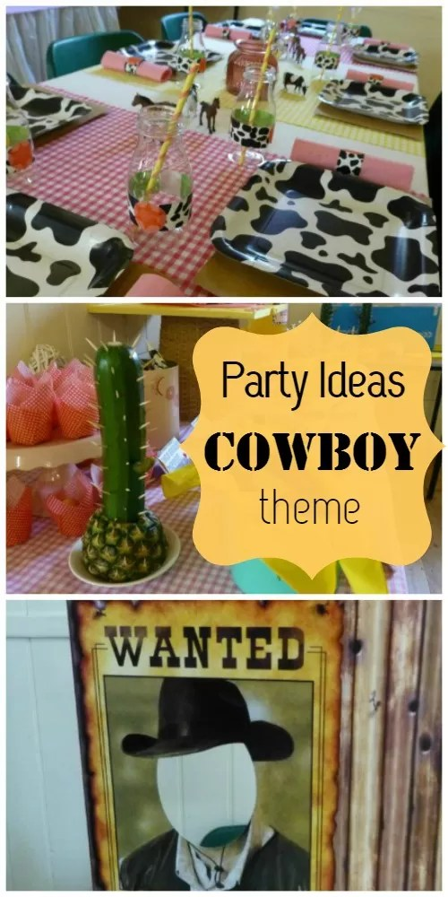Cowboy party theme ideas  Bubbablue and me