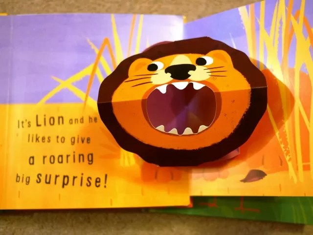 little snappers books - lion