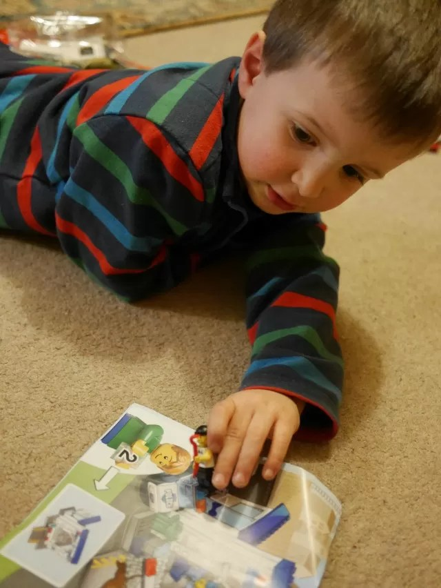 looking at lego instructions