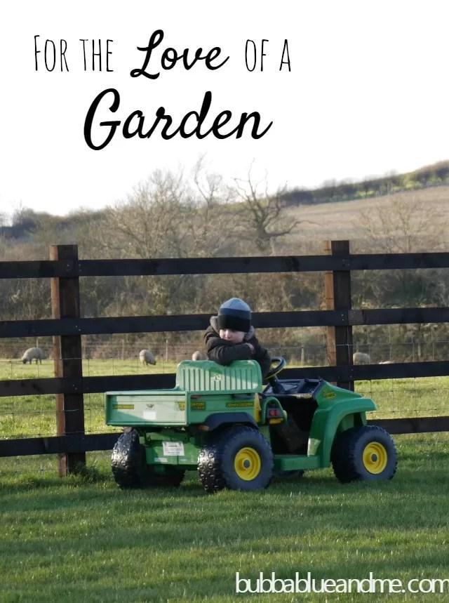 Garden play  Bubbablue and me