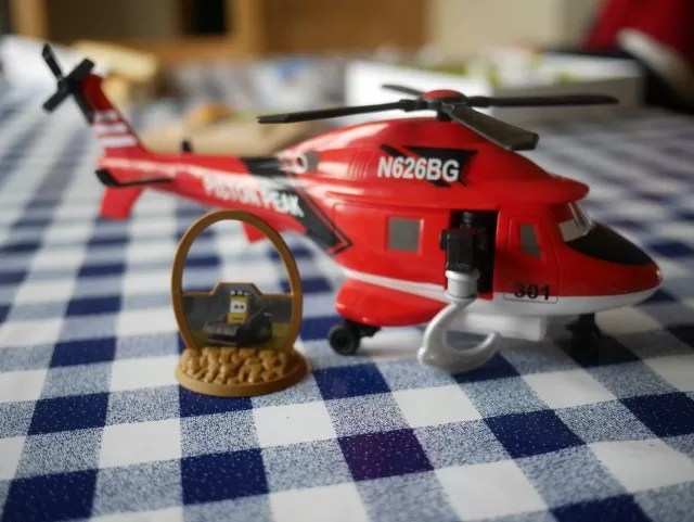 Planes 2 rescue helicopter