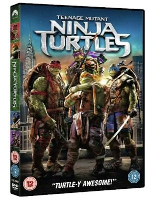 TMNT teenage mutant ninja turtles movie dvd