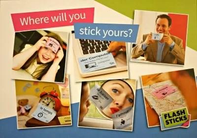 flashsticks postcard