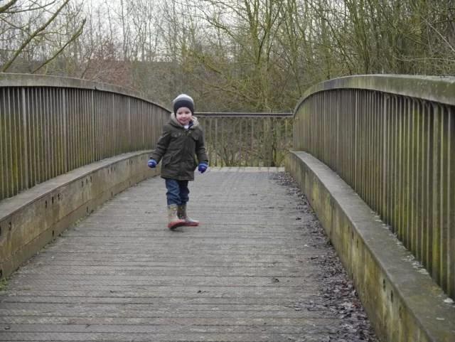 over the bridge - Spiceball park