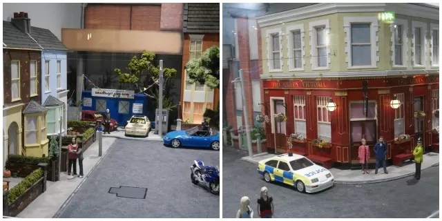 Eastenders set at Babbacombe model village