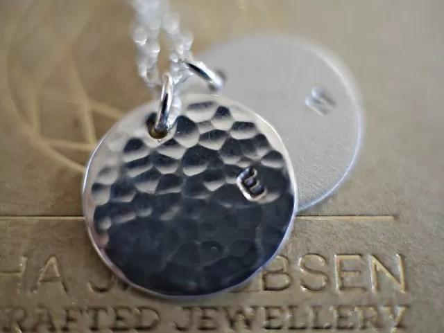 personalised Sacha Jacobsen jewellery