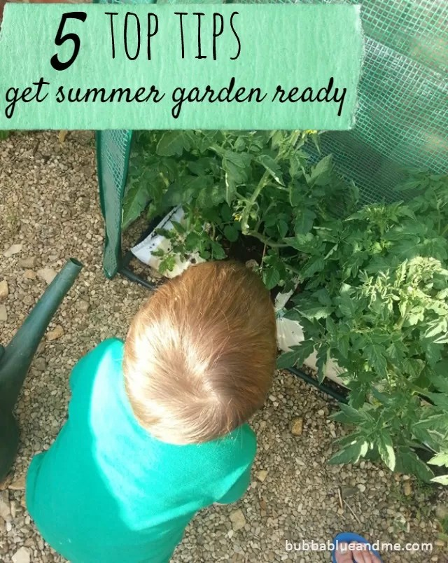 5 top tips for getting your garden summer ready