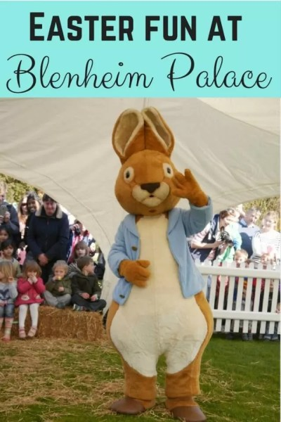Easter fun at Blenheim Palace - Bubbablue and me