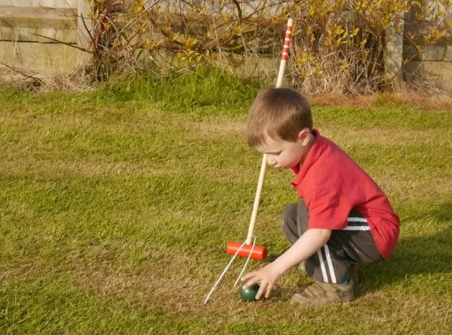 cheating at croquet