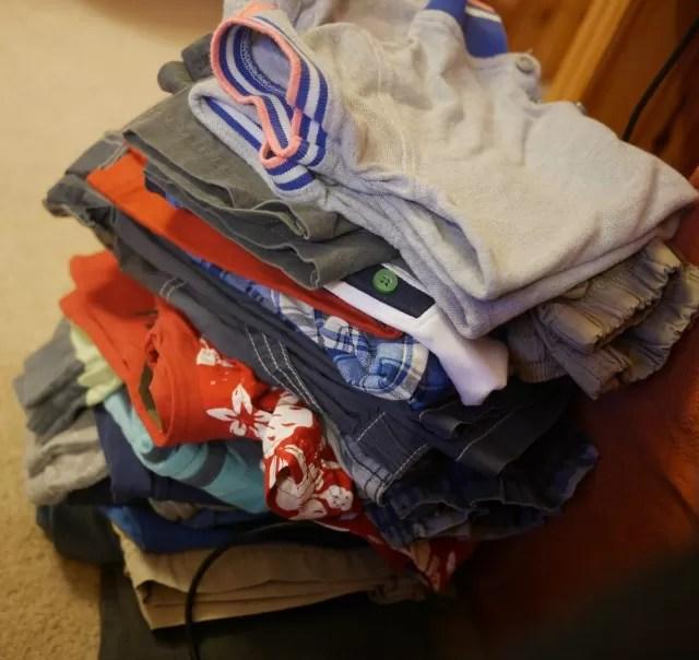 childrens clothes handmedowns
