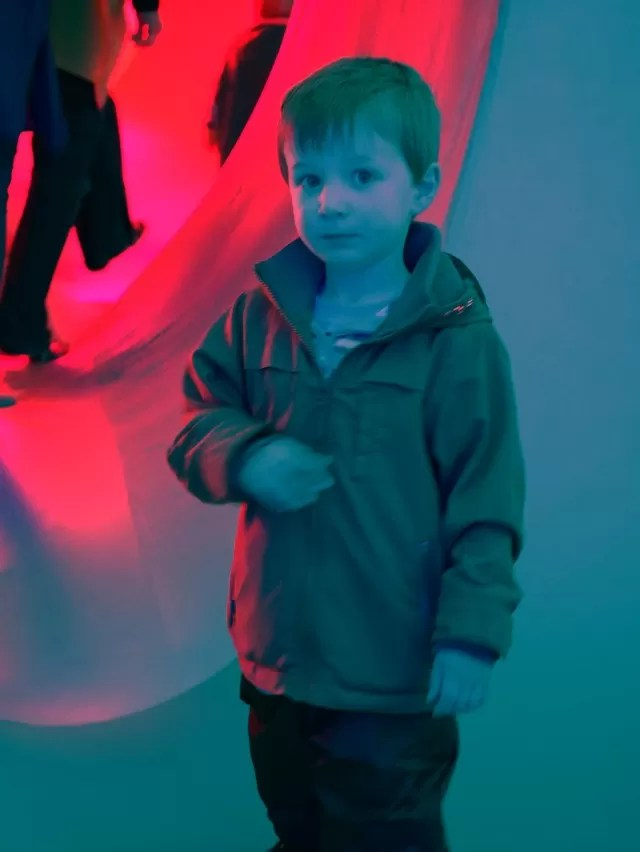 posing in Colourscape Waddesdon Manor