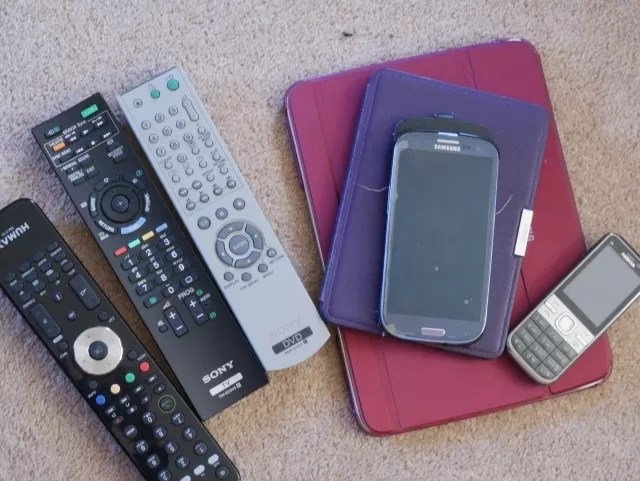 electronics and remote controls