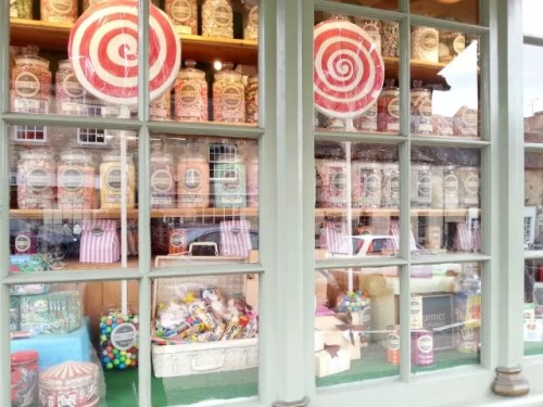Burford sweet shop