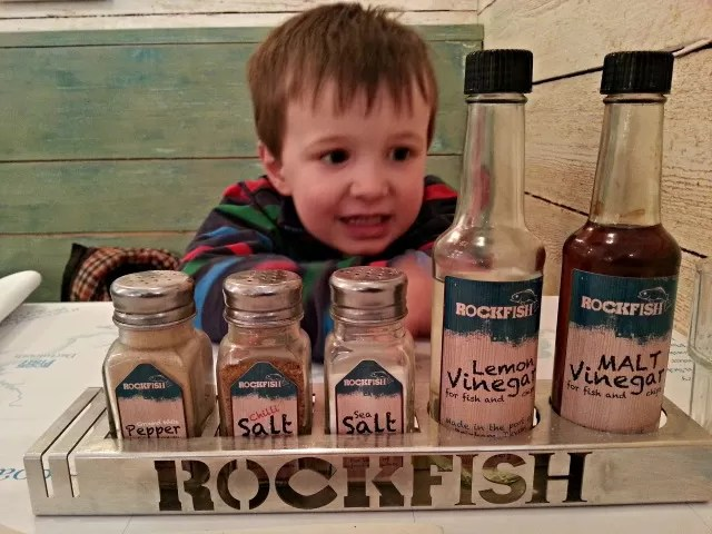 Rockfish Torquay condments