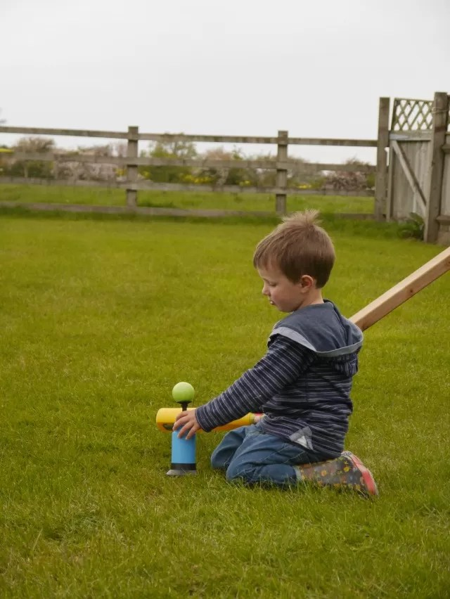 playing baseball practice