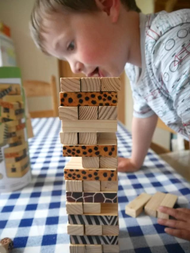 setting up WWF tumble tower