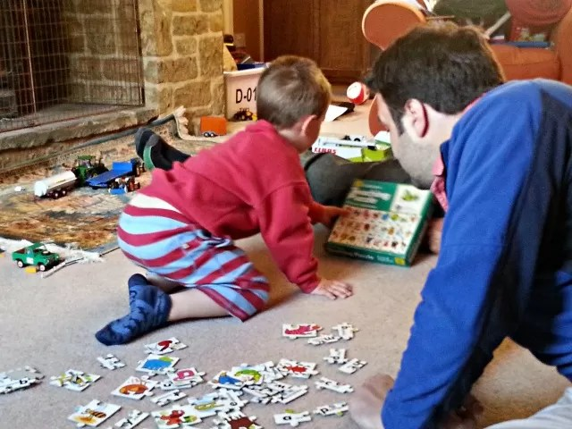 jigsaw puzzles with uncle