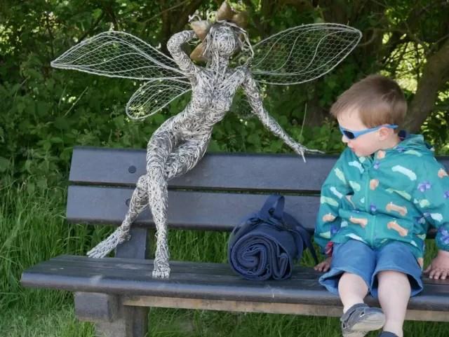 Fairy trail at Trentham Gardens Estate
