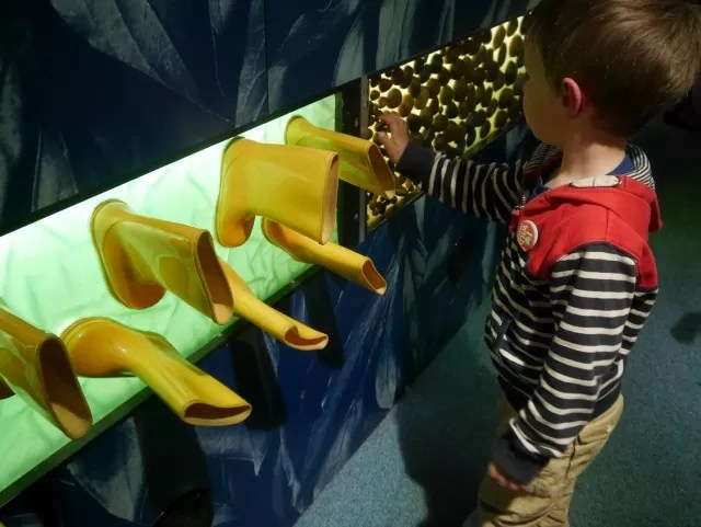 sensory boards at science museum London