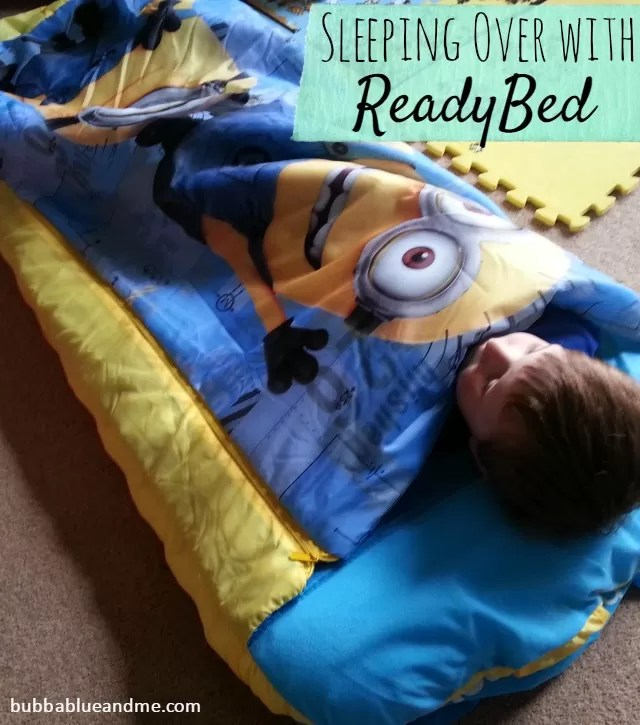 sleeping over with readybeds - Minions