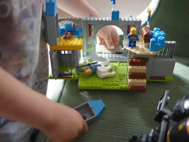 a first freestyle lego build