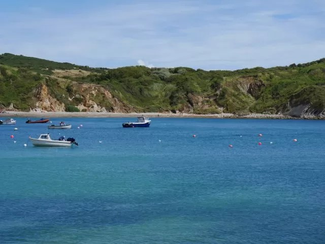 Boats Lulworth Cove