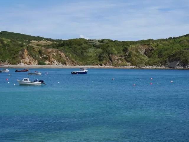 Boats Lulworth Cove