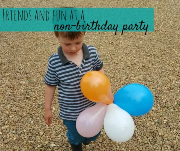 Friends and fun at a non birthday party