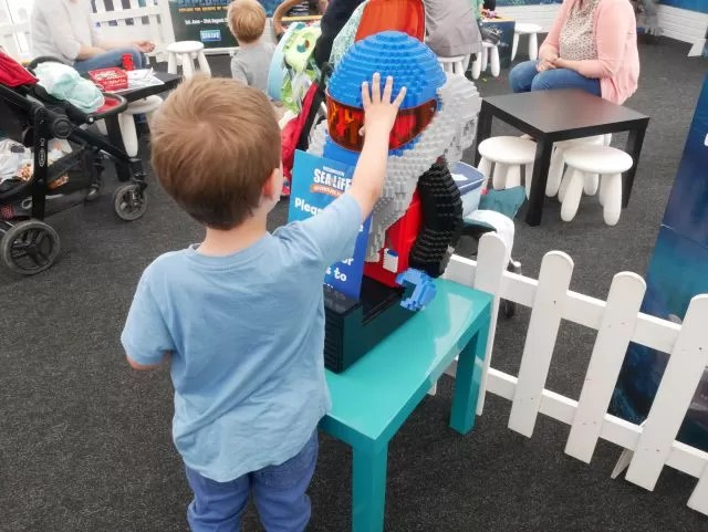 Lego Discovery at Weymouth Sealife Centre