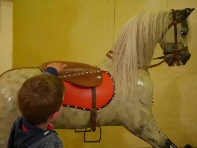 Rocking horse at Lulworth Castle