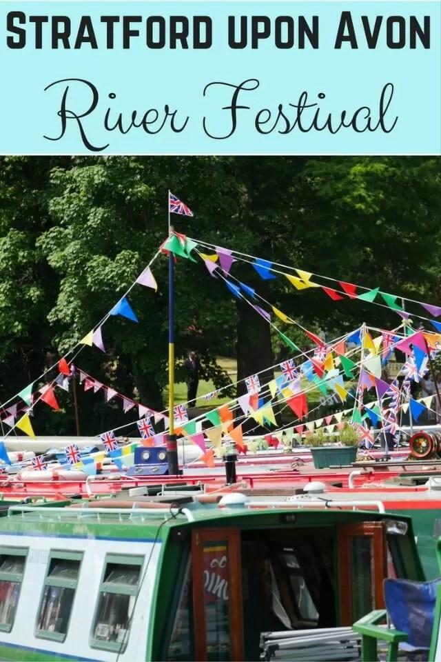 Stratford river festival - Bubbablue and me