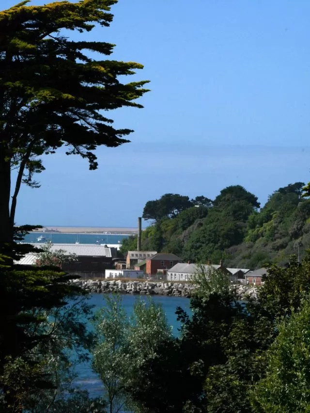 The view from Nothe Gardens