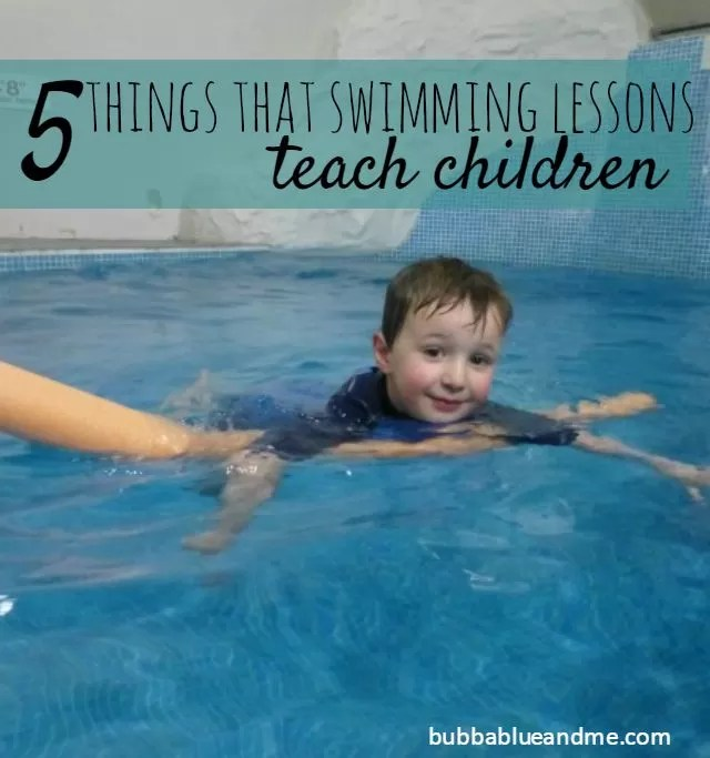 5 things about swimming