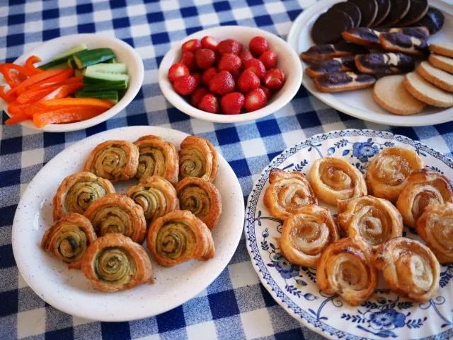 party snacks for a fancy dress playdate