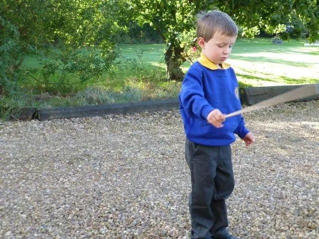 first day at school outdoor play