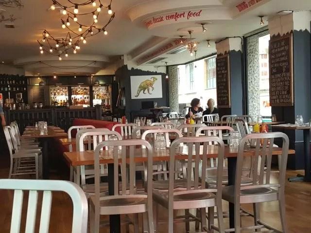 jamie oliver's diner London