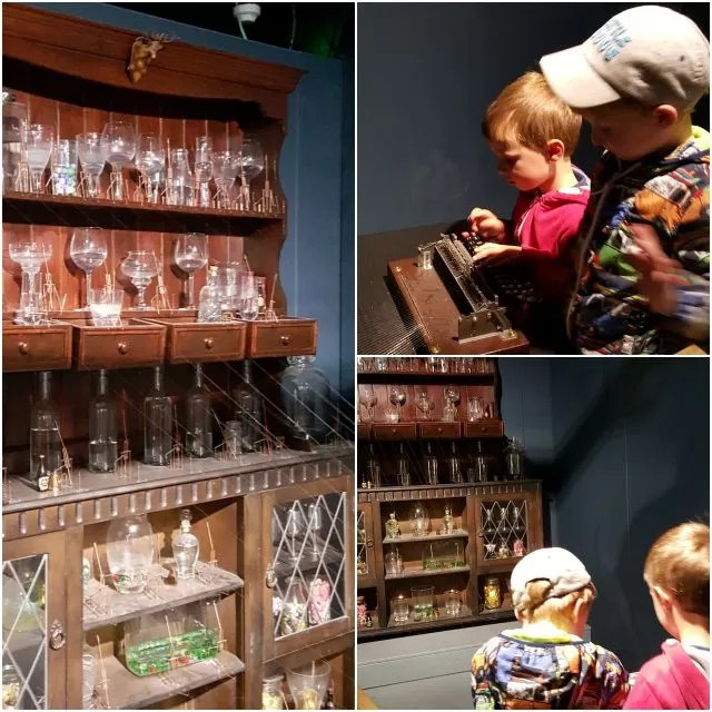 playing the glass dresser - MAD Museum